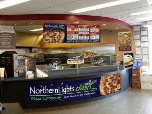 northern lights dash pizza to go