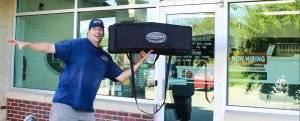 quick pizza delivery West Des Moines Iowa