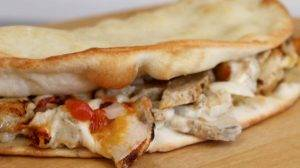 chicken bacon ranch slammich calzone delivery des moines kansas city